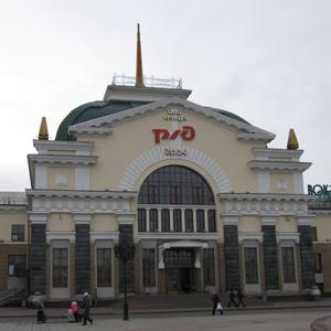 Железнодорожные вокзалы Харабали